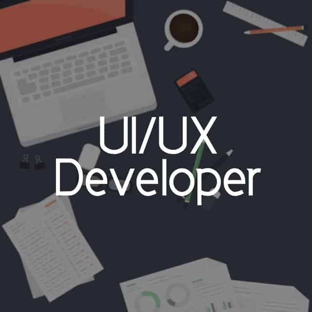 ONE (1) UI/UX Developer