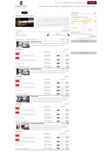 QikRes<sup>©</sup> Web Booking Engine 3