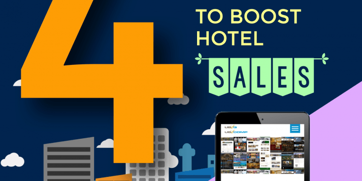 4 TIPS TO BOOST HOTEL SALES